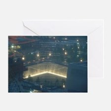 9-11 Twin Tower Attacks Greeting Card