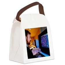 Computer-aided design of a silico Canvas Lunch Bag
