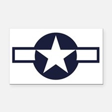 USAAF roundel 1943-1947 Rectangle Car Magnet