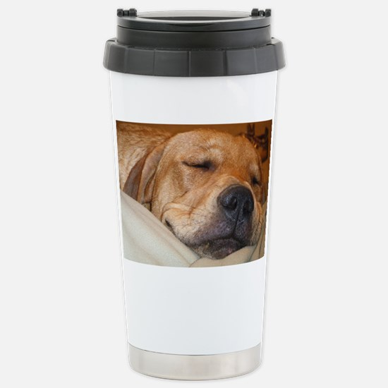 You Snooze, You Lose Stainless Steel Travel Mug