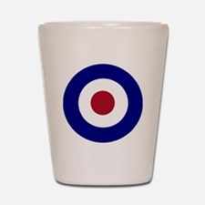 British Bullseye Shot Glass