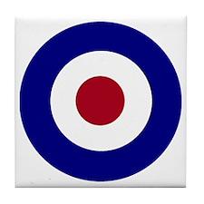 British Bullseye Tile Coaster