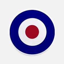 "British Bullseye 3.5"" Button"