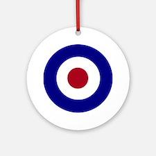 British Bullseye Round Ornament