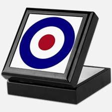 British Bullseye Keepsake Box