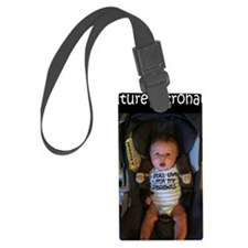 Future Astronaut Luggage Tag