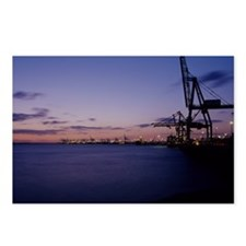 Container cranes Postcards (Package of 8)