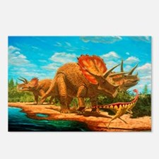 Cretaceous dinosaurs Postcards (Package of 8)