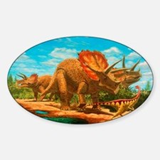 Cretaceous dinosaurs Decal