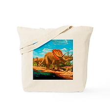 Cretaceous dinosaurs Tote Bag