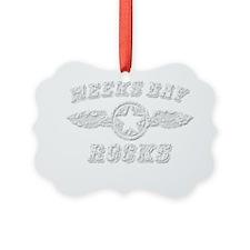 MEEKS BAY ROCKS Ornament