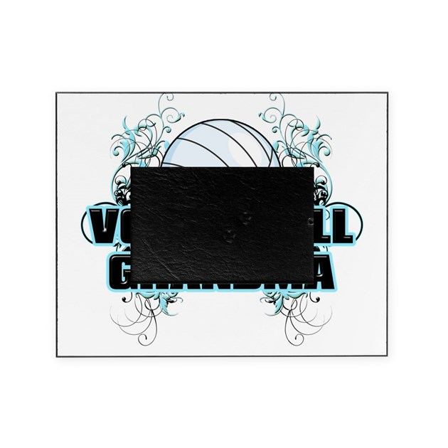 volleyball grandma cross picture frame by admin cp17129921