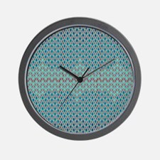 Geometric Hexagon Design Wall Clock