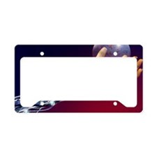 Cybernetic hand License Plate Holder