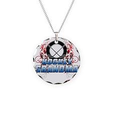 Hockey Grandma (cross) Necklace
