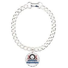 Hockey Grandma (cross) Bracelet