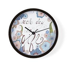 Each Day Wall Clock