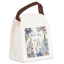Each Day Canvas Lunch Bag