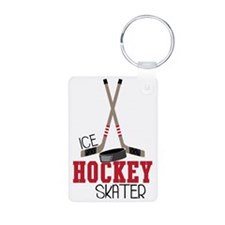 Hockey Ice Skater Keychains