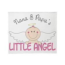Little Angel Throw Blanket