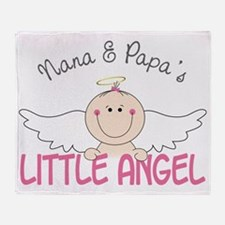 Little Angel Throw Blanket