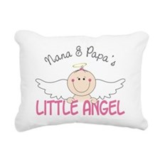 Little Angel Rectangular Canvas Pillow