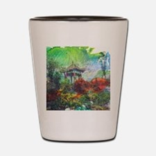 Lillies Collage Shot Glass