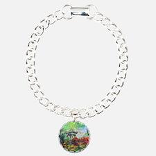 Lillies Collage Bracelet