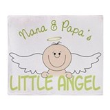 Nana & papa Fleece Blankets