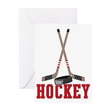 Hockey Greeting Card