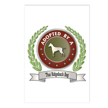 Ridgeback Adopted Postcards (Package of 8)