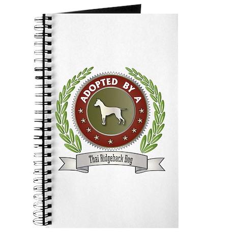 Ridgeback Adopted Journal