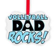 This Volleyball Dad Rocks copy Ornament