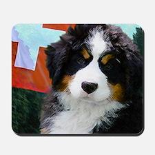 Swiss Berner Puppy Mousepad