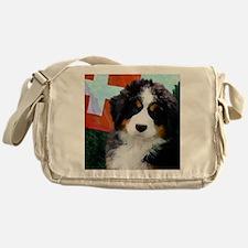 Swiss Berner Puppy Messenger Bag