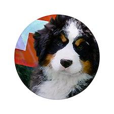 "Swiss Berner Puppy 3.5"" Button"