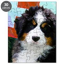 Swiss Berner Puppy Puzzle