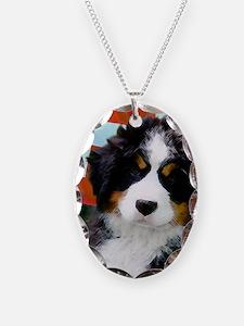 Swiss Berner Puppy Necklace