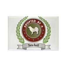 Mastiff Adopted Rectangle Magnet (100 pack)