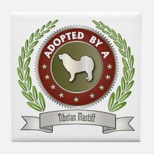 Mastiff Adopted Tile Coaster