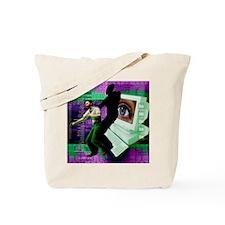Cyberstalking Tote Bag