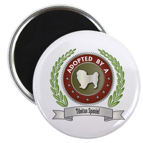 """Spaniel Adopted 2.25"""" Magnet (10 pack)"""