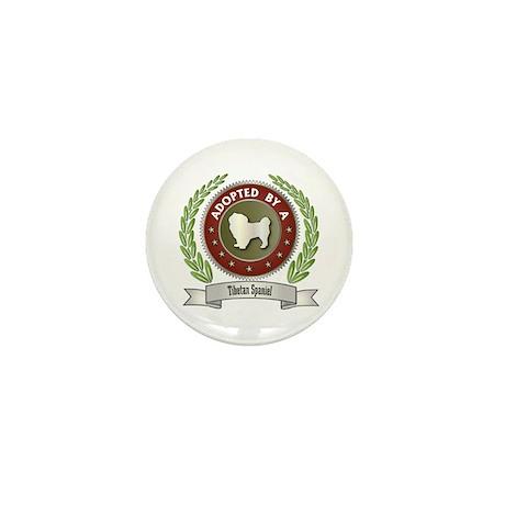 Spaniel Adopted Mini Button (10 pack)