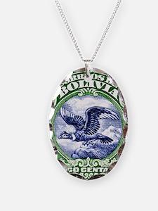 Bolivia 1928 Andean Condor Pos Necklace