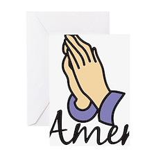 Amen Greeting Card