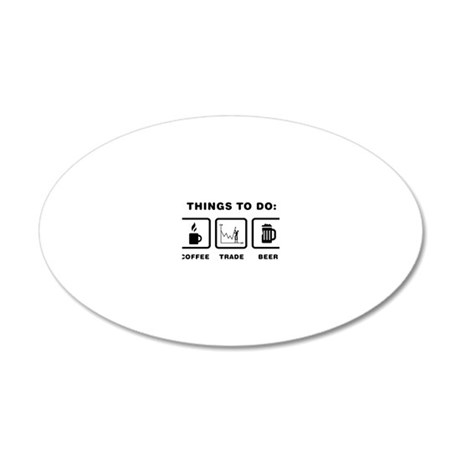 Forex-Stock-Trader-ABH1 20x12 Oval Wall Decal