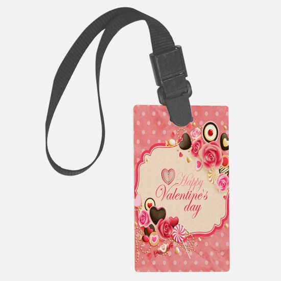 Happy Valentines Day to my love Luggage Tag