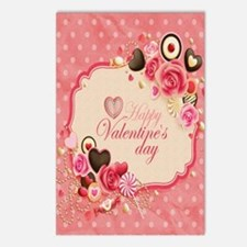 Happy Valentines Day to m Postcards (Package of 8)