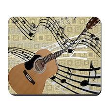 Abstract Guitar Mousepad