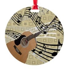 Abstract Guitar Ornament